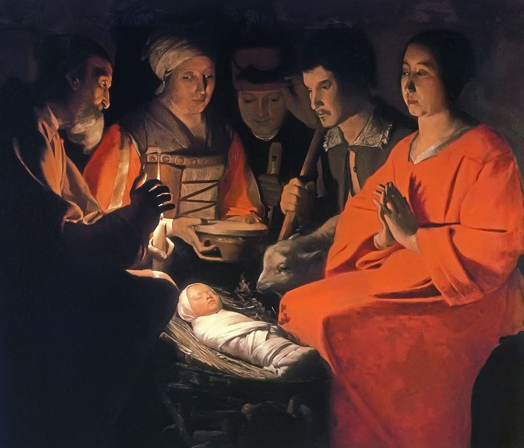 """Adoration of the Shepherds"""