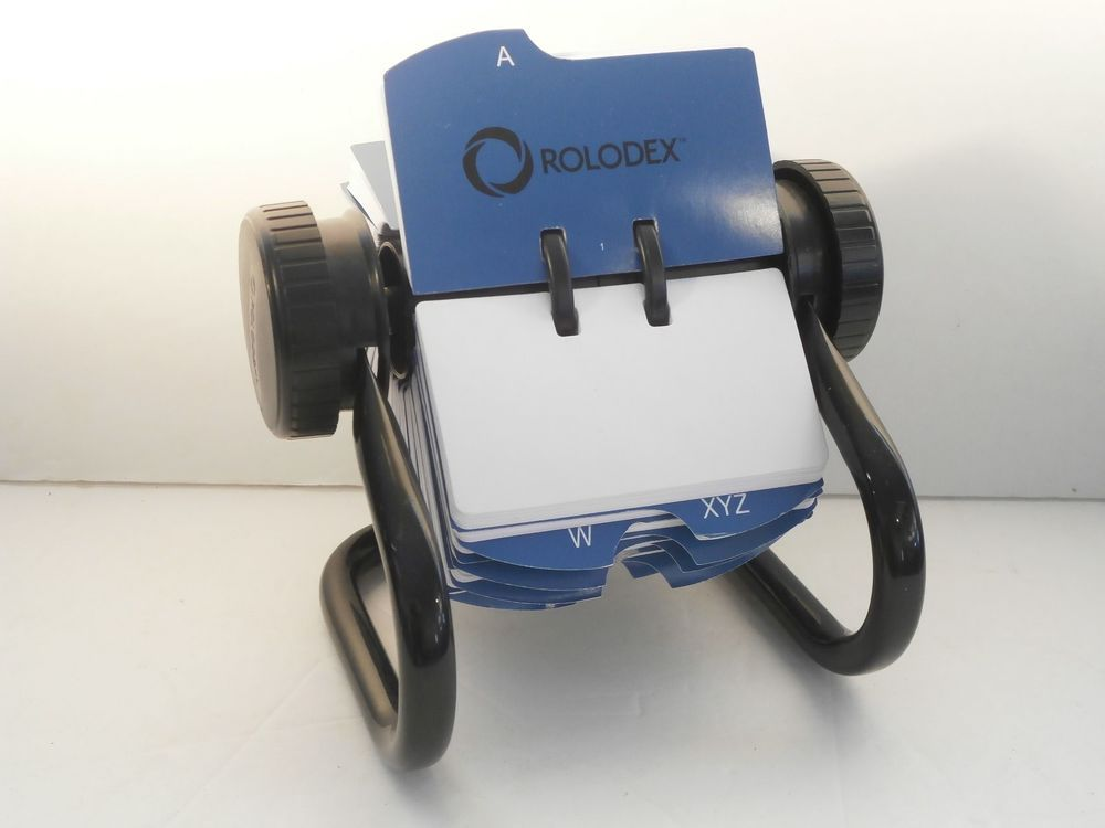 Rolodex Open Rotary 2\