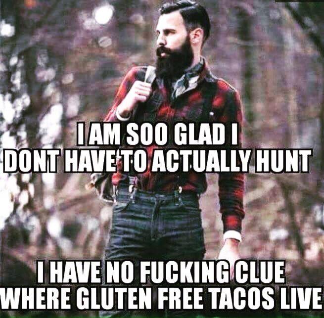 Modern Man Paleo Gluten Gmo Myths Caveman Tacos Beards