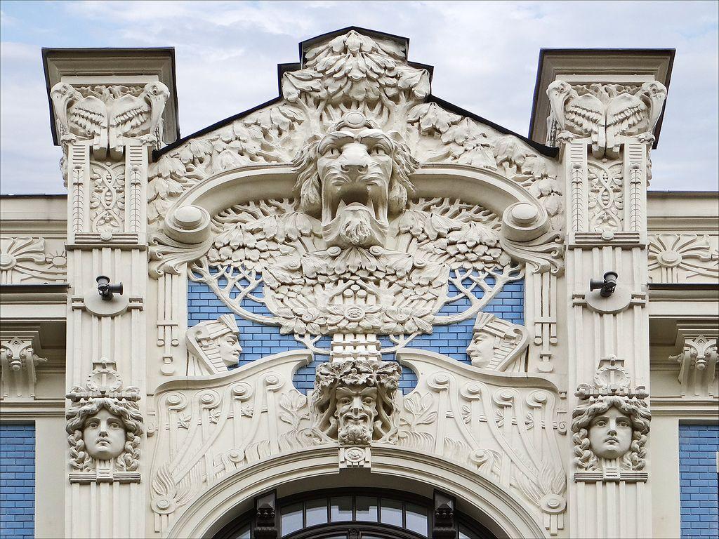 Art nouveau architecture books n buildings art nouveau for Architecture art nouveau