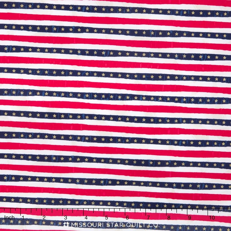 USA - Stars and Stripes Multi Yardage
