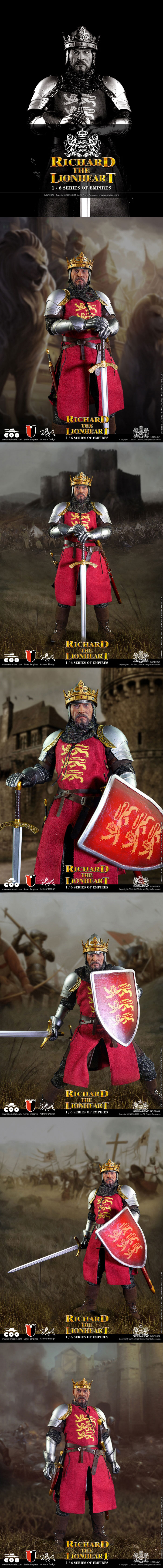 [[예약상품]COOMODEL - 1/6 Empires Series: Richard the Lionheart (SE004)]