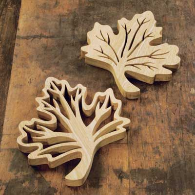 Maple Leaf Trivets - The Woodworkers Institute | Coasters | Scroll Saw, Scroll saw patterns ...