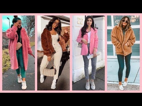 a1d4d4ecd4 MODA OTOÑO INVIERNO 2018 2019 OUTFITS JUVENILES CASUALES - YouTube ...