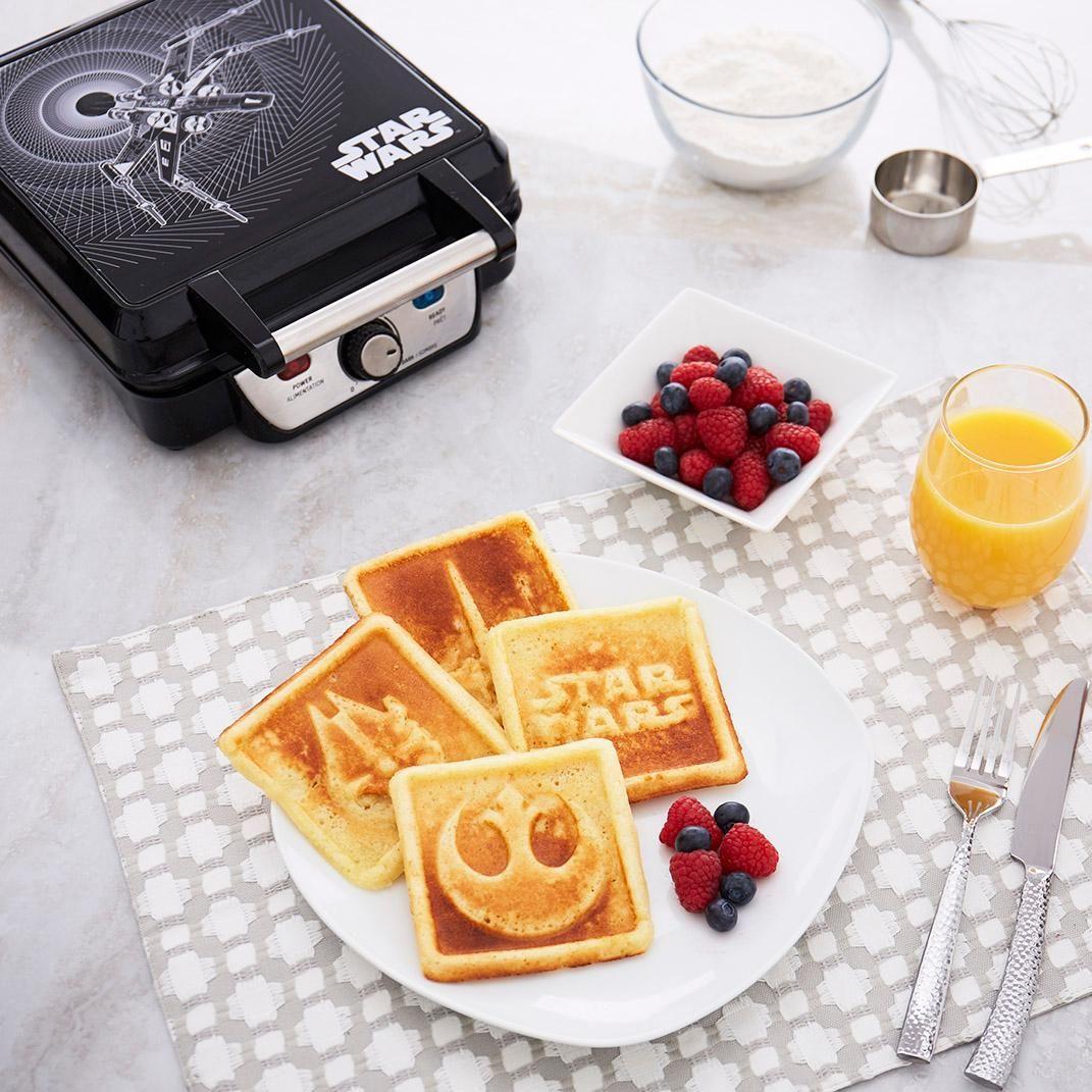 Star Wars Waffle Maker Star Wars Kitchen Gadgets Star Wars