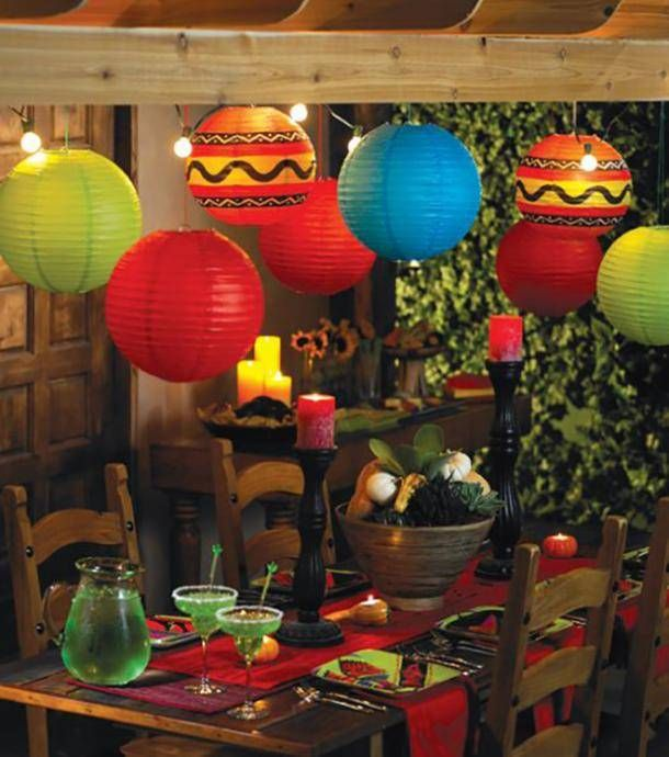 20 Easy DIY Decoration Ideas For Your Cinco De Mayo Party -   diy Decoracion mexicana