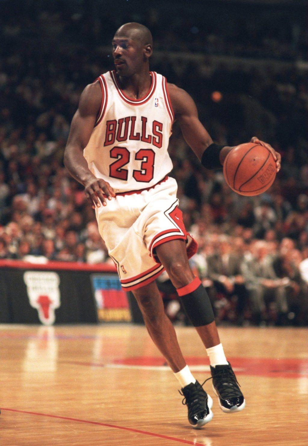 8bd20667afa9 MJ Space Jam XI Game 6 1995 Playoffs Magic