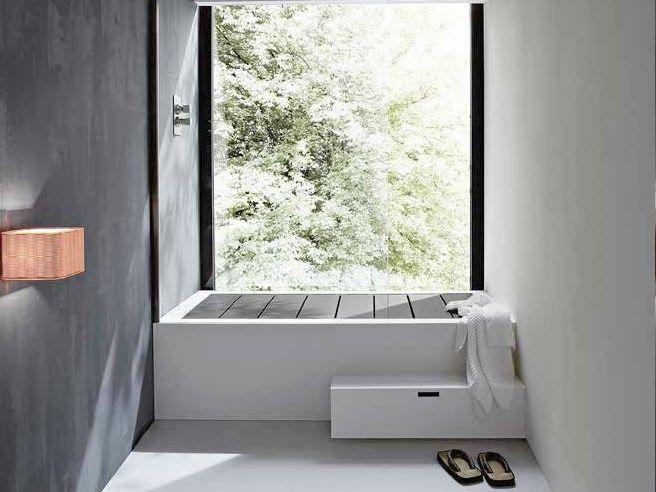 Vasca Da Bagno Unico : Vasca da bagno rettangolare in korakril™ unico vasca da bagno