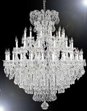 Chandelier crystal chandeliers lighting 52x60 a83 silver275636 chandelier crystal chandeliers lighting 52x60 a83 silver2756361 aloadofball Images