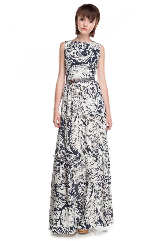 Heidi Merrick Seaward Dress in Flume Print at Social Dress Shop ...