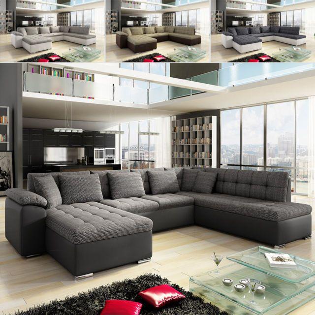 ecksofa niclas mit schlaffunktion eckcouch sofa couchgarnitur wohnlandschaft sofa pinterest. Black Bedroom Furniture Sets. Home Design Ideas