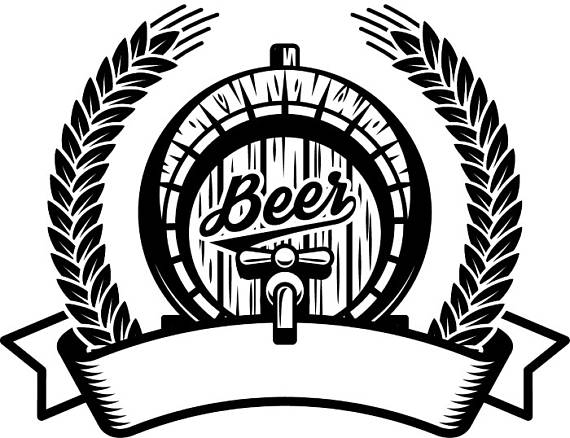 Beer Logo 10 Barrel Wreath Sunburst Wheat Pub Bar Tavern Bartender Brewery Alcohol Liquor Ale Drink SVG  EPS  PNG Vector Cricut Cut Cutting is part of Beer logo - ExpertOutfit  Commercial License  Do you want to make products with this design  Then you will need a product commercial license  We sell two commercial licenses  A Basic Commercial License for up to