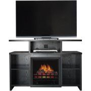 Free Shipping Buy Whalen Espresso Tv Stand With Swinging