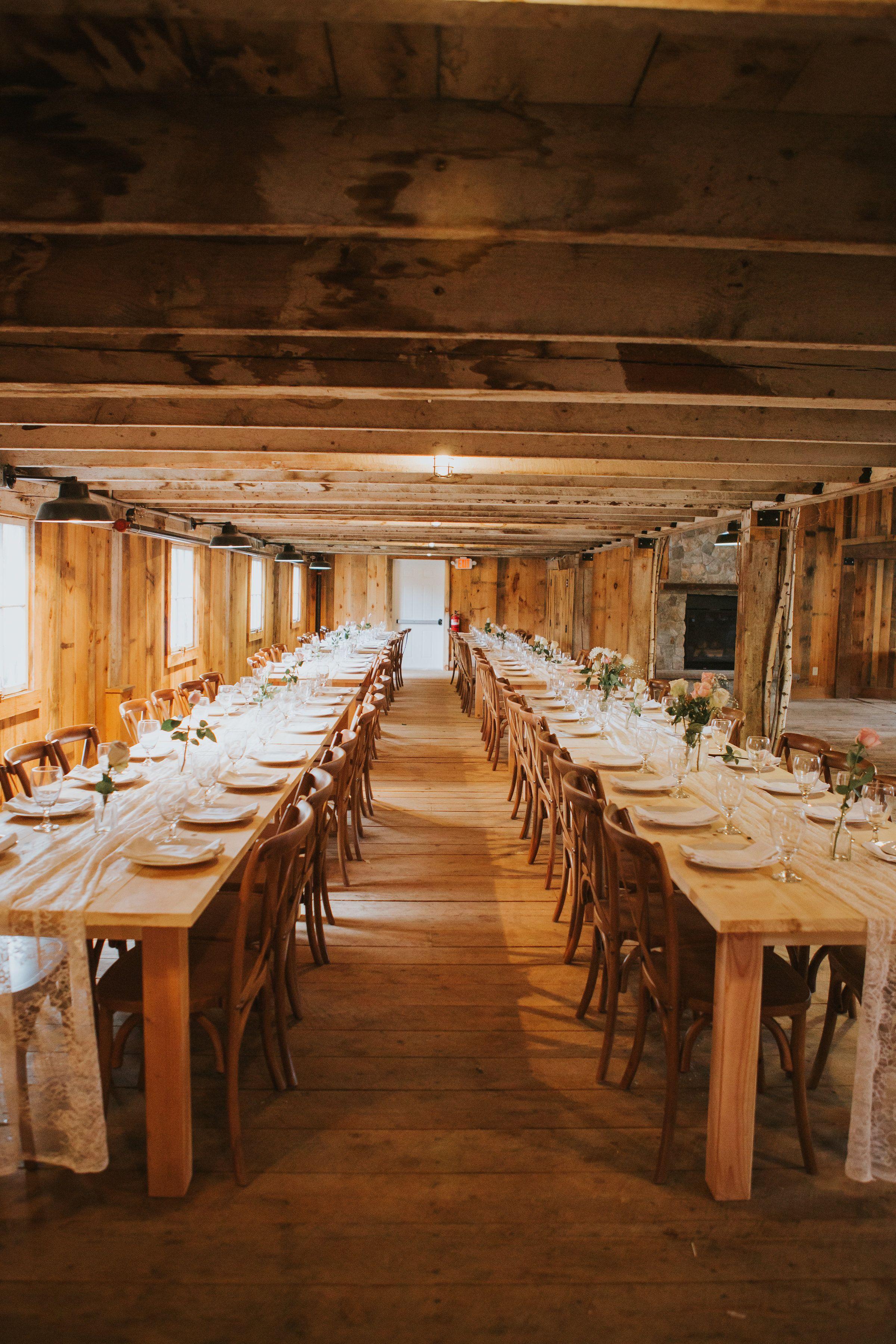 Romantic Rustic Intimate Barn Wedding Venue Allrose Farm In New