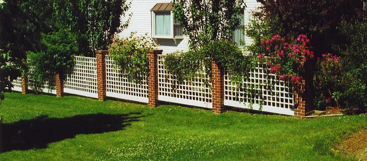 Landscape Fence Google Search Garden Trellis Fence Garden