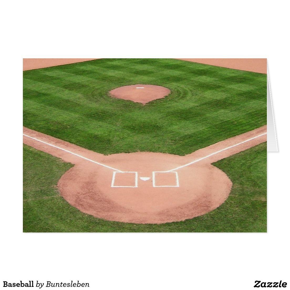Baseball Grußkarte