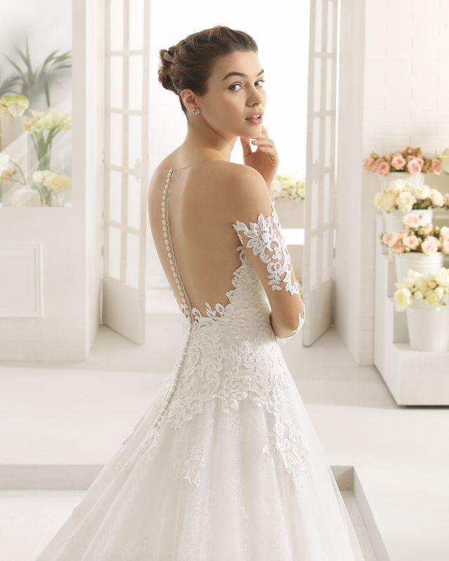 calista vestido de novia aire barcelona 2017   aire barcelona 2017