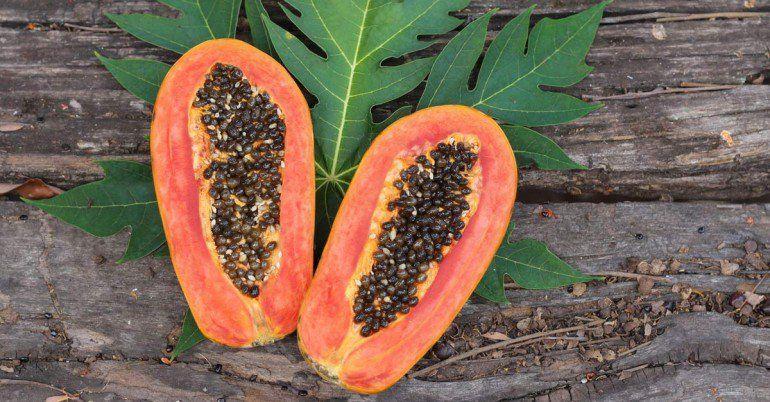 La Plupart Du Temps Quand Nous Mangeons De La Papaye