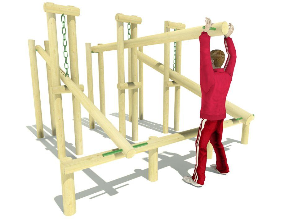 outdoor wooden gym equipment - Google Search | Club ...