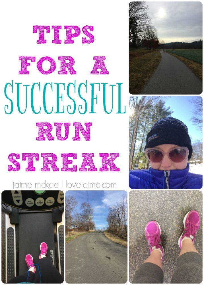Tips for a successful run streak during winter #running #fitfluential #sweatpink #fitness #runstreak