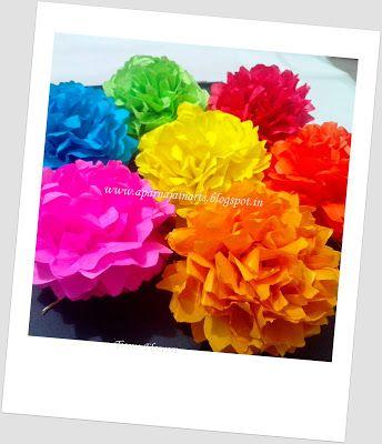 Tissue paper flowers diy paper craft pinterest paper flowers tissue paper flowers diy mightylinksfo