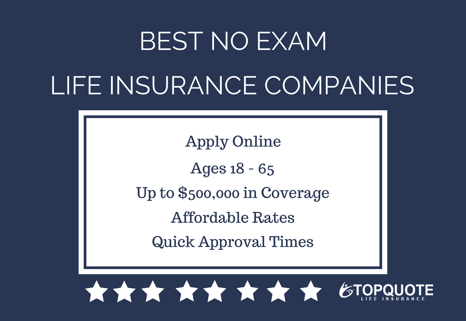 Life Insurance Quote Alluring Best No Exam Life Insurance Companies  Life Insurance  Pinterest . Design Inspiration