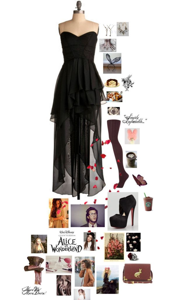 """""""A Very, Merry Unbirthday."""" by cabbagesandkings951 ❤ liked on Polyvore"""