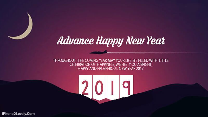 advance happy new year 2019 greetings
