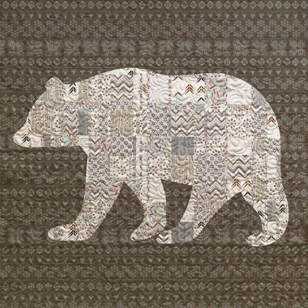 Big Bear Quilt - Custom Quilts by Stitched | Quilts | Pinterest ... : bear quilts for sale - Adamdwight.com