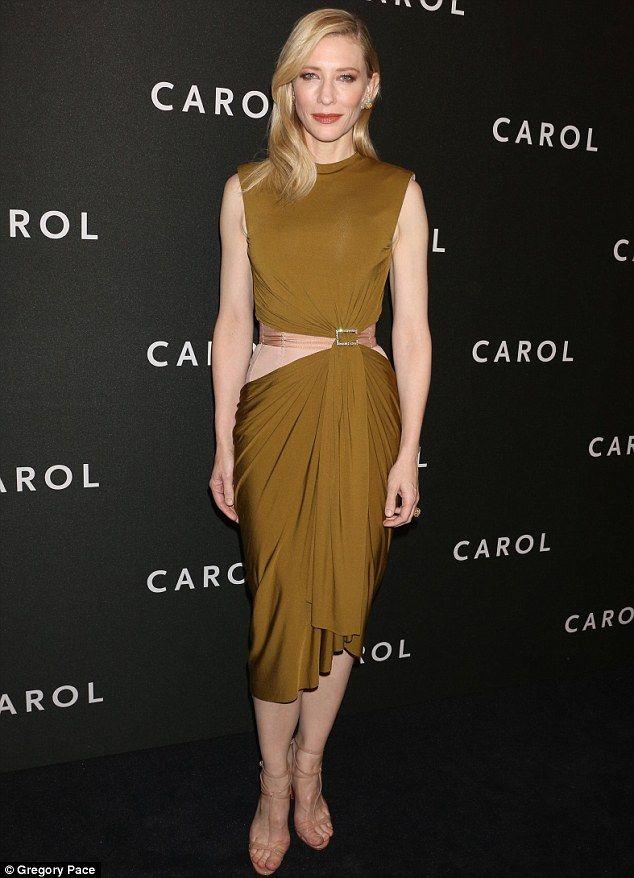 Secrets Of An A List Body How To Get Cate Blanchett S Trim Waist Cate Blanchett Lanvin Dress Fashion