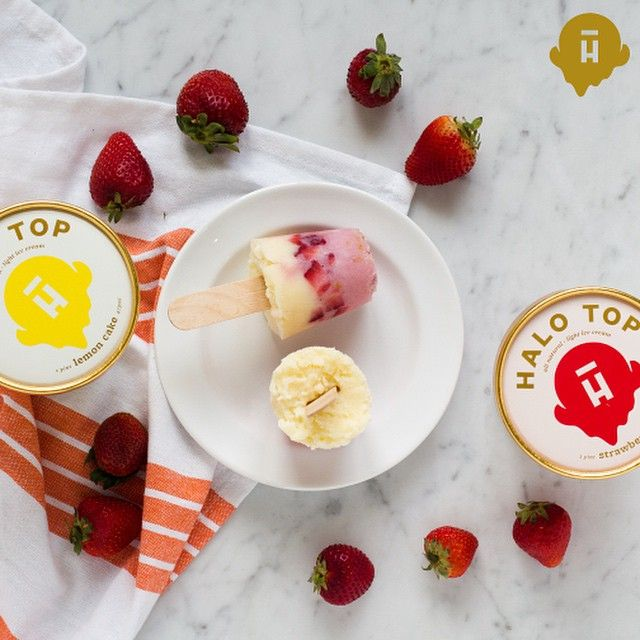 Ciao, Italian ice. We'll take this strawberry lemonade on a stick sweetened with stevia instead of sugar.
