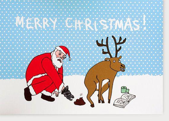 Funny christmas card funny card xmas card adult by likks christmas funny christmas card funny card xmas card adult by likks m4hsunfo Image collections
