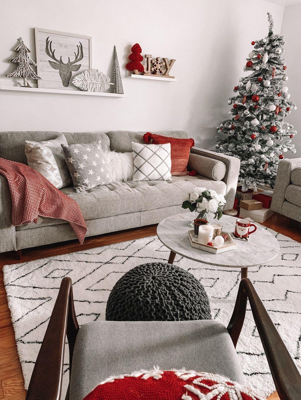 55 Small Apartment Christmas Decor Ideas Christmas Apart