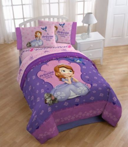 Details About Disney Sofia The First Bed In A Bag Comforter Set In 4 Prints With Images Sofia The First Comforter Sets Bed Comforters