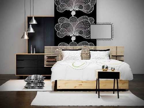 Bedroom Furniture Sets Ikea Room divider headboard