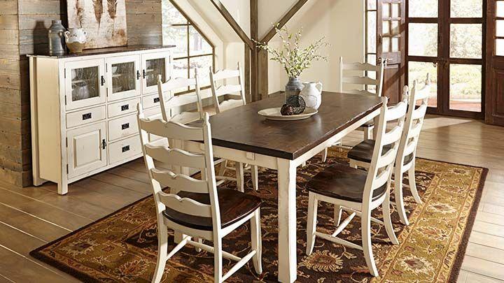 Champlain Canadel Rectangular Table