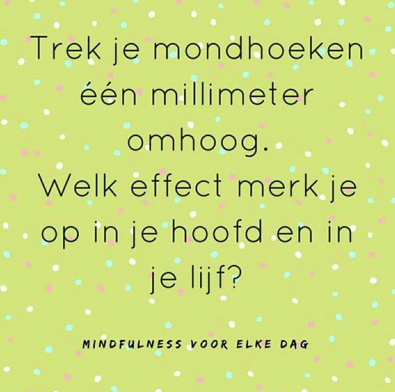 Lach en geniet #mindfulness