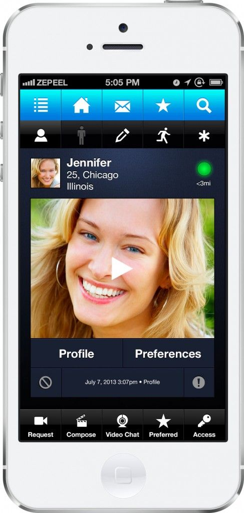 One scene dating app