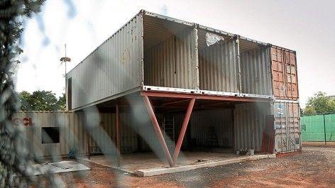 Inspiring design for an awsome container home arch