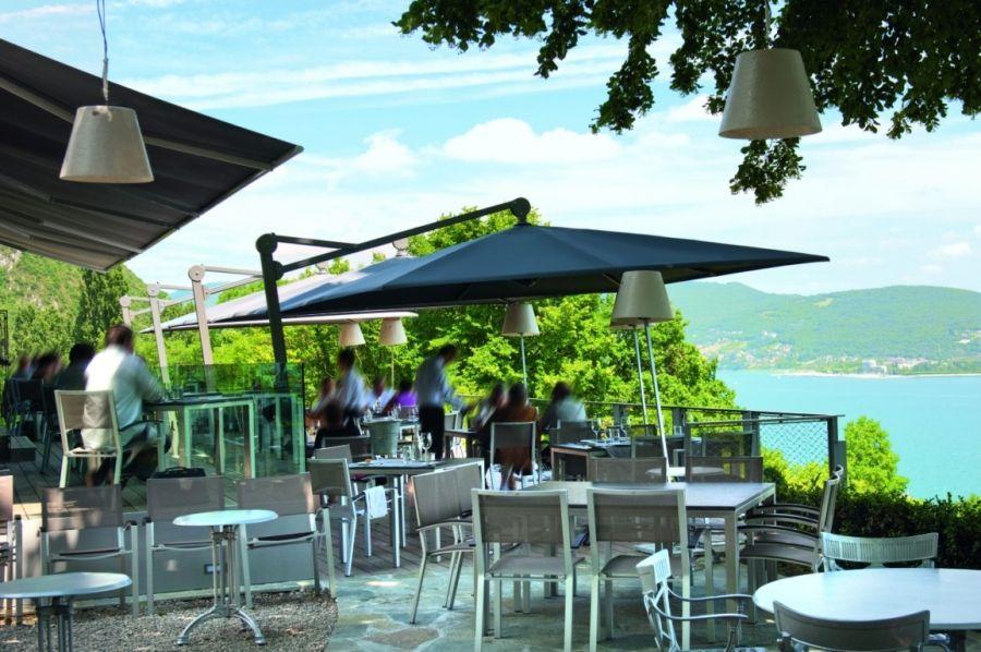 gastronomie sonnenschirm ambiente von glatz rund 400 cm glatz gastronomieschirme pinterest. Black Bedroom Furniture Sets. Home Design Ideas