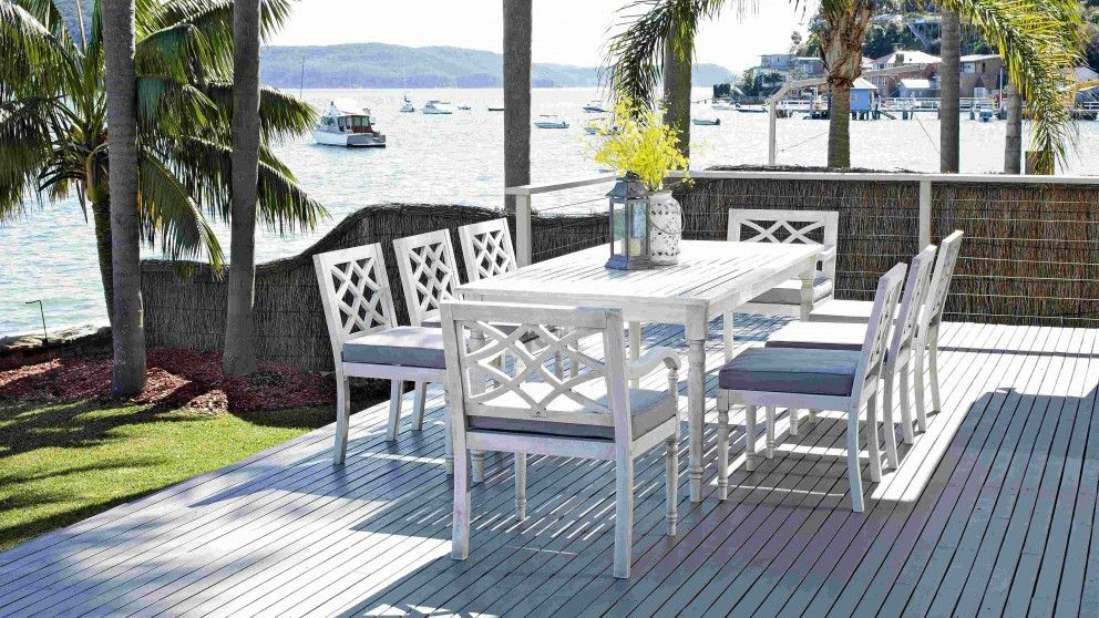 Marie 9 Piece Dining Setting - Outdoor Dining - Outdoor Living ...