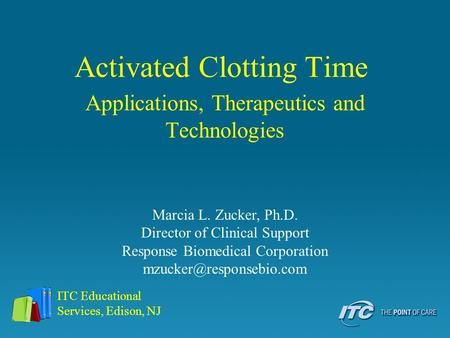 Activated Clotting Time
