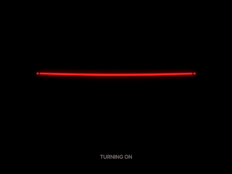 Car signals animation