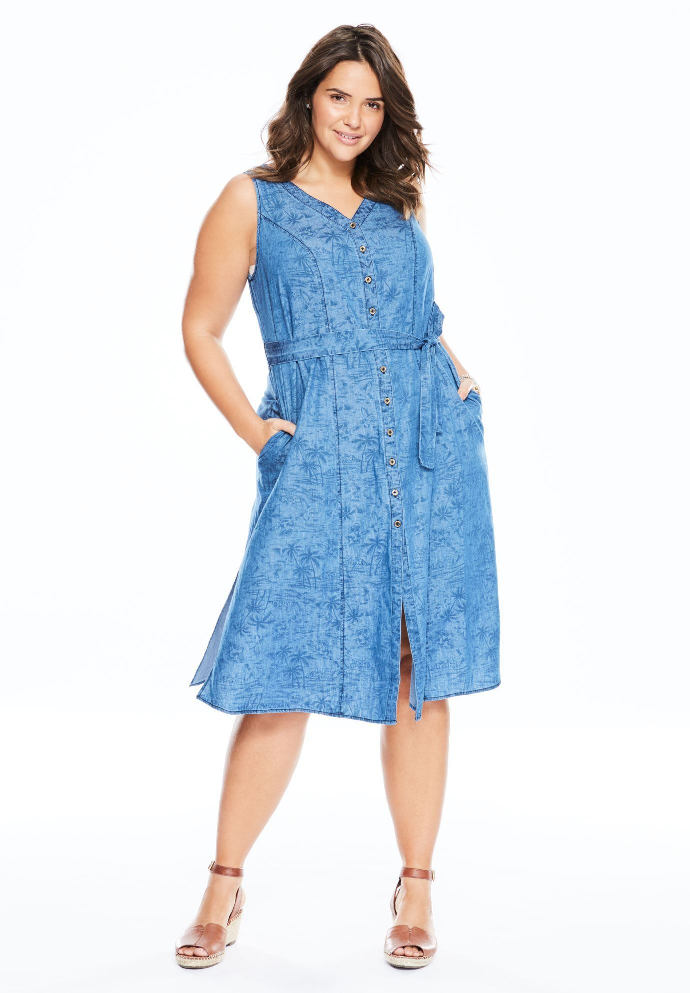 Perfect the trend blue dress photo