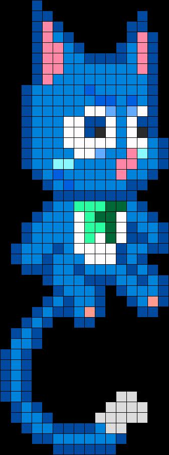 Happy Fairy Tail Perler Bead Pattern Perler Beads Perler Bead