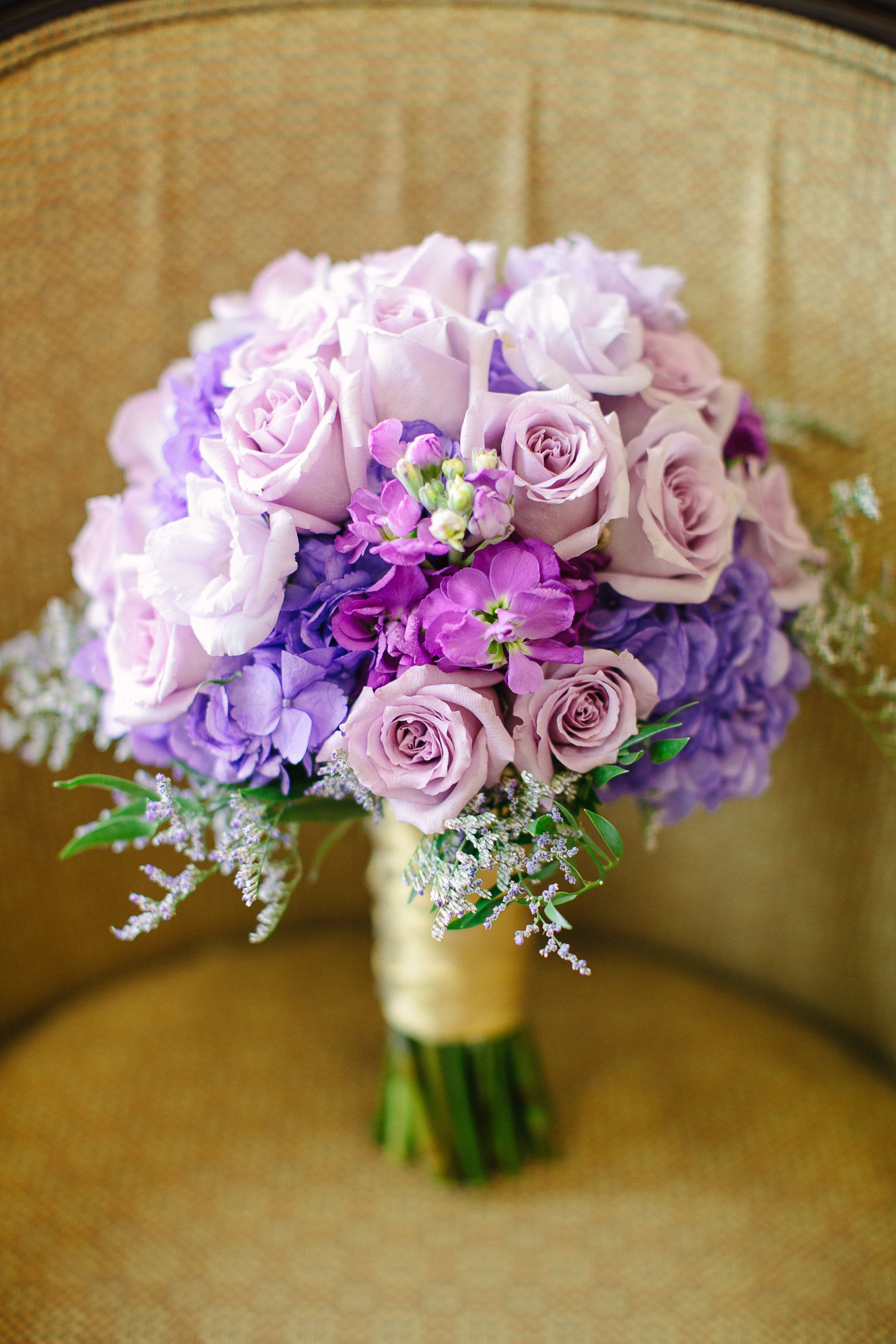 Lisianthus Roses Stock And Hydrangea With Caspia For A Lovely Bridal Bouquet Designed By Lana With Wedding Flowers Summer Bridal Party Flowers Bridal Bouquet