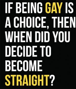 Is gay natural or a choice
