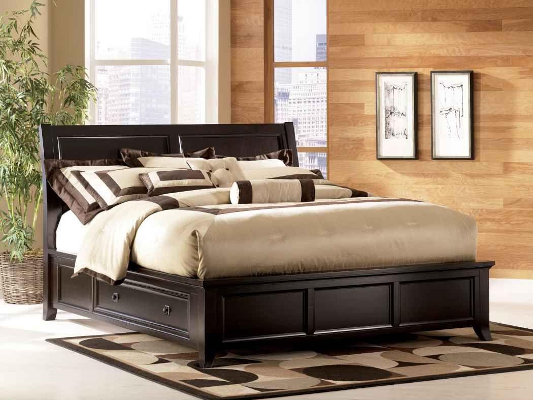Bettumrandung Schlafzimmer ~ Schwarz bettrahmen die eleganz den stil ihrer schlafzimmer