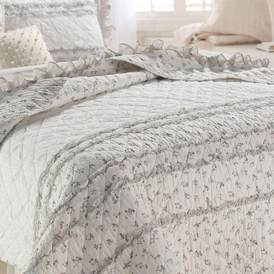 Lc Lauren Conrad For Kohls Rosebud Quilt Collection Bedding