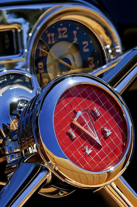 1953 Hudson Convertible Steering Wheel